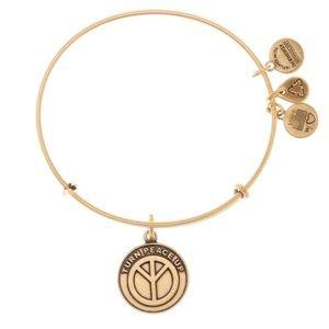🇺🇸Alex and Ani World Peace Charm Bracelet